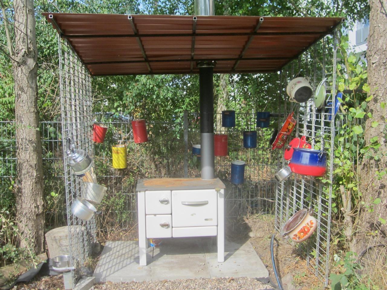 Außenküche Mit Fünf Buchstaben : Kita heidberg